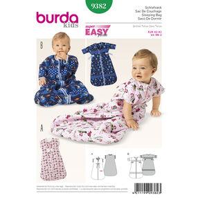 Burda Style Pattern 9382 Babies' Sleeping Bag