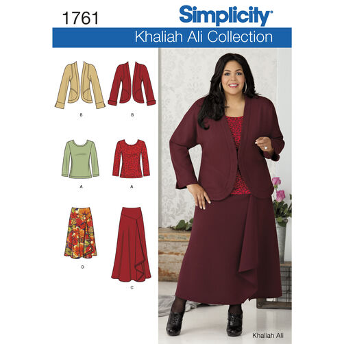 Simplicity Pattern 1761 Misses' & Plus Size Separates