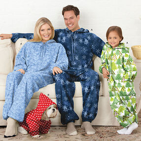 Child's, Teens' & Adults' Fleece Jumpsuit