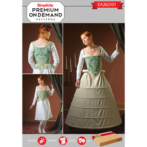 Simplicity Pattern EA262101 Premium Print On Demand Costume Pattern