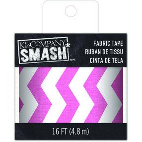 SMASH Pink White Zig Zag Tape_30-687080
