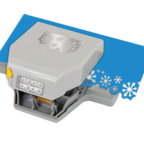 Christmas Snow Flurries 2-in-1 Edger Punch_54-52037