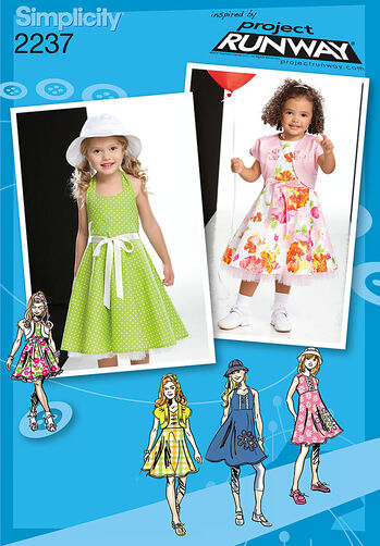Child's & Toddlers' Dresses. Project Runway Collection