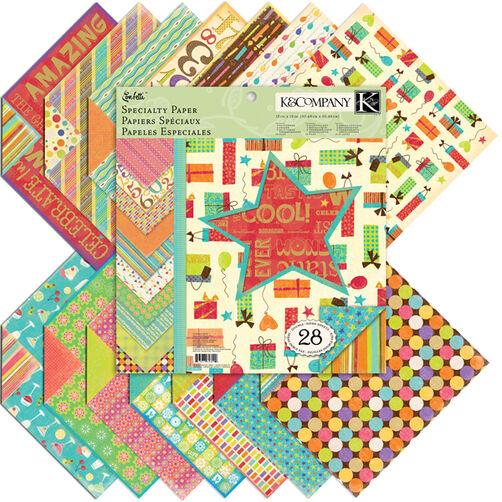 Confetti 12x12 Specialty Paper Pad_30-628090