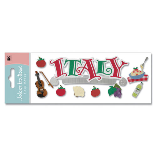 Italy Title Stickers_SPJT63