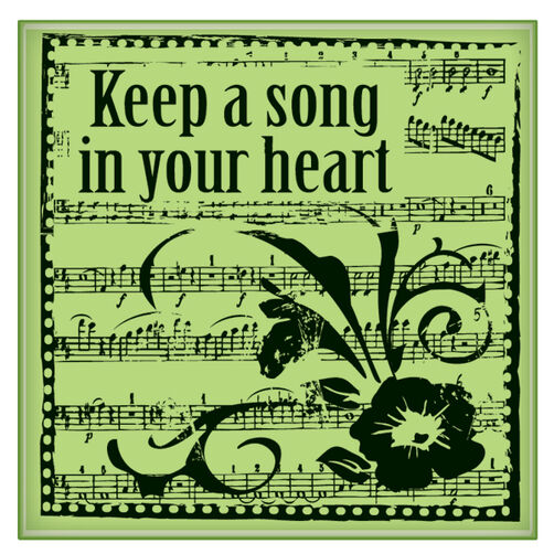 Keep a Song in Your Heart Mini_60-60141
