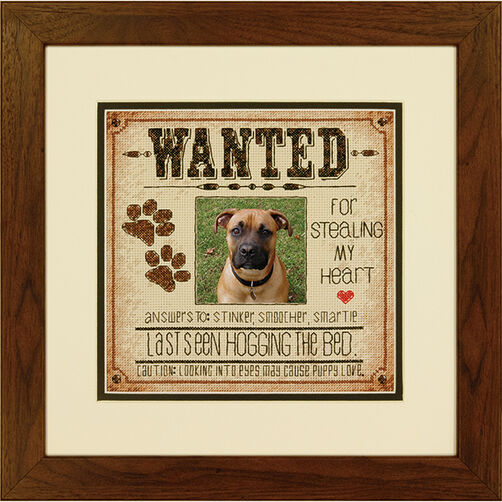 Dog Wanted in Counted Cross Stitch_70-35316