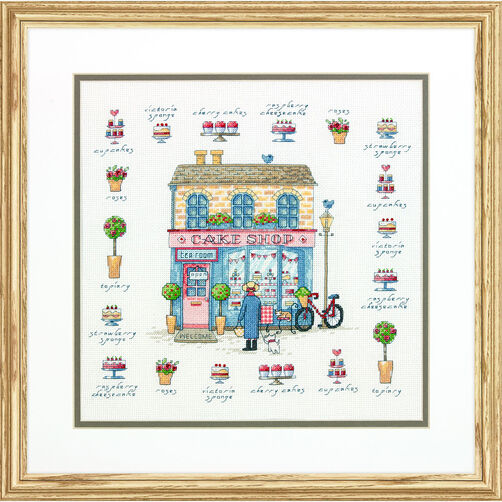 Cake Shop, Counted Cross Stitch_70-35352