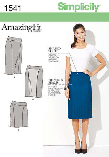 Misses' & Miss Petite Amazing Fit Skirt