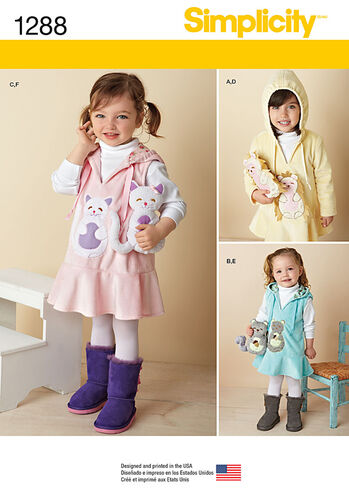 Toddlers' Fleece Dress or Jumper and Stuffed Animals
