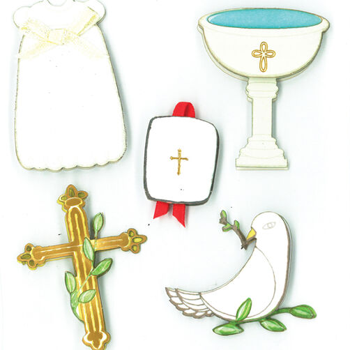 Child's Christening Dimensional Sticker  _30-577718