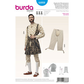 Burda Style Pattern 6888 Historical Costumes