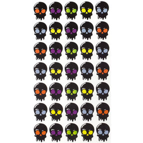 Halloween Skulls Stickers_52-00176