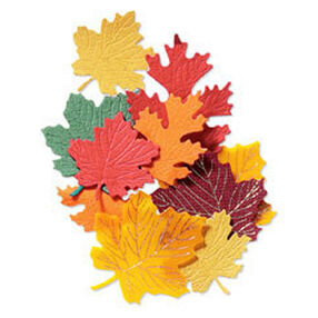 Maple Leaves Autumn Embellishment_JJAB067A