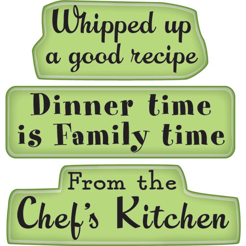 Kitchen Expressions Mini Cling Stamps_60-60228