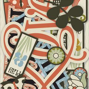 Eco Modern Words & Icons Die-Cut Cardstock_30-137745