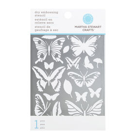 Butterfly Glossary Embossing Stencil_42-03003