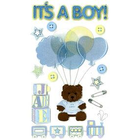 It's A Boy Stickers_50-50055