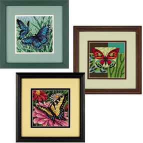 Butterfly Trio Bundle, Needlepoint_060014