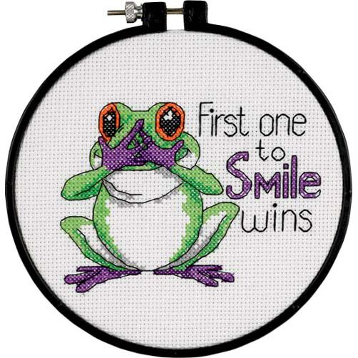 First One to Smile, Counted Cross Stitch_73519