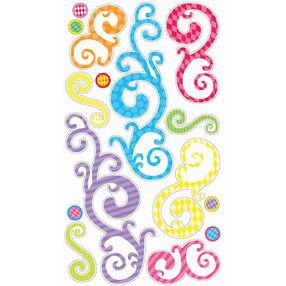 Birthday Swirls Stickers_SPCLS86