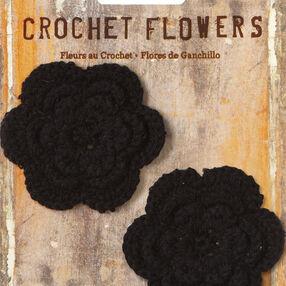 """2"""" Crochet Flower Appliques, 2 pcs"""