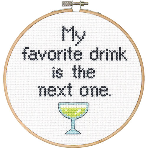Favorite Drink, Counted Cross Stitch_70-74630