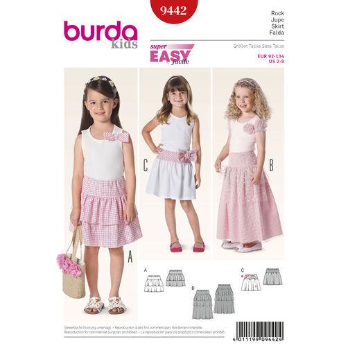 Burda Style Pattern 9442 Children