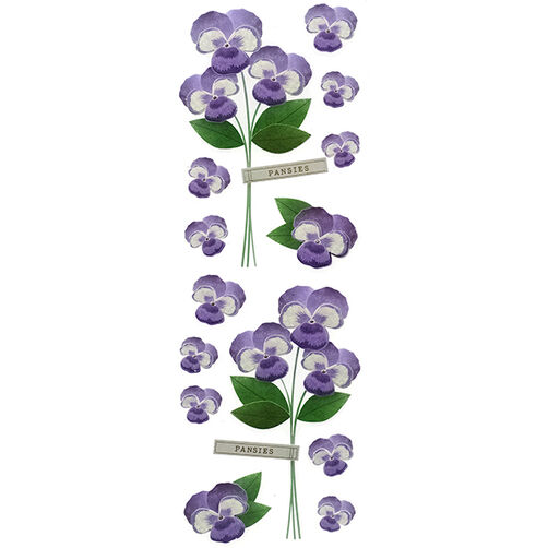 Pansies Millinery Stickers_41-00478