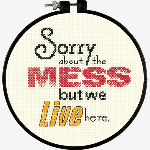 Mess Stitch Wit in Counted Cross Stitch_72-74046