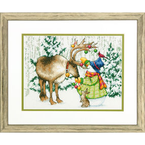 Ornamental Reindeer, Counted Cross Stitch_70-08947
