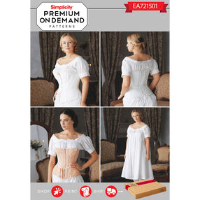 Simplicity Pattern EA721501 Premium Print On Demand Costume Pattern