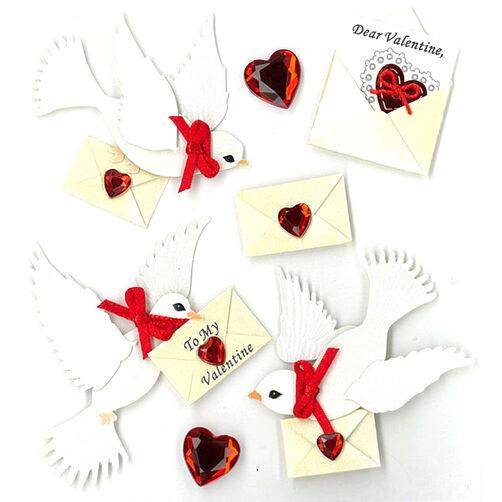 Valentine Doves Stickers_50-20546