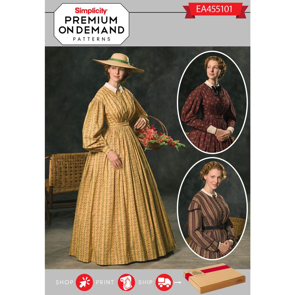Ea455101 premium print on demand costume pattern for Premium on demand