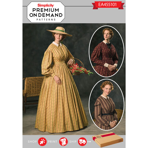 Simplicity Pattern EA455101 Premium Print on Demand Costume Pattern