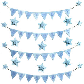 Baby Boy Banner Repeat Stickers_50-21655