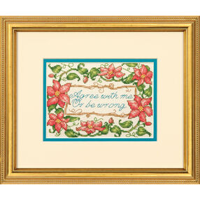 Agree with Me Counted Cross Stitch_70-65128