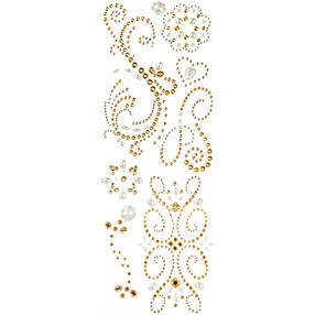 Champagne Swirl Adhesive Gems_30-676930