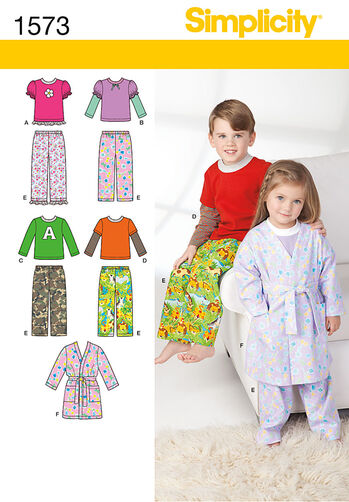 Toddlers' and Child's Loungewear
