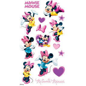 Minnie Mouse Flat Stickers_53-00020