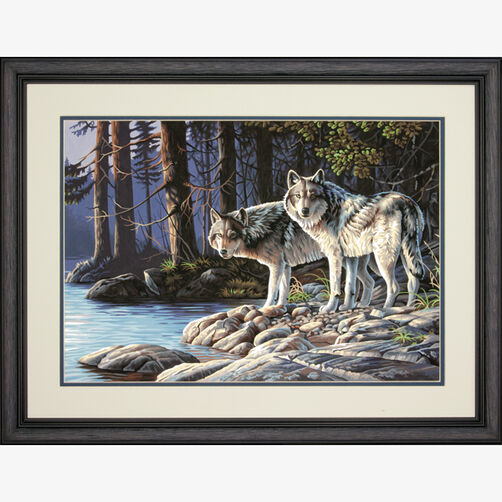 Gray Wolves, Paint by Number_73-91445