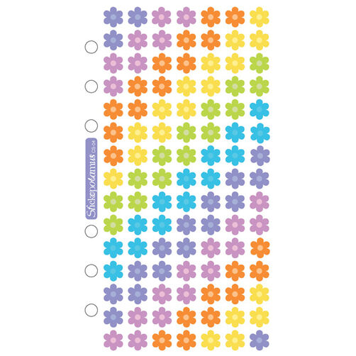 Jelly Flowers Classic Stickers_SPCS04