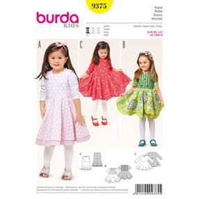 Burda Style Pattern 9375 Dress
