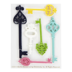 Modern Damask Key Embellishments _41-00244
