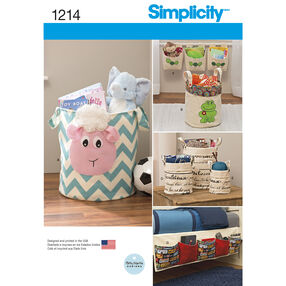 Simplicity Pattern 1214 Organizers