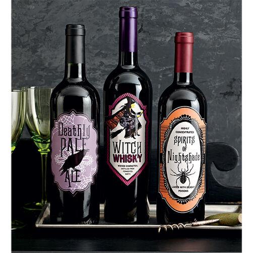 Gothic Lace Beverage Labels_48-20333