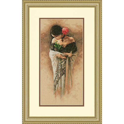 The Rose, Counted Cross Stitch, 70-35331