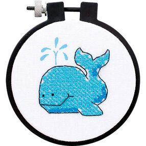 The Whale, Stamped Cross Stitch_72417
