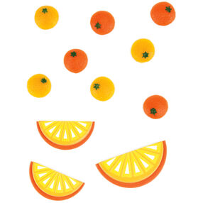 Orange Slice Embellishments_50-00467