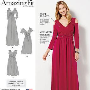 Misses & Plus Size Amazing Fit Dress in Knit
